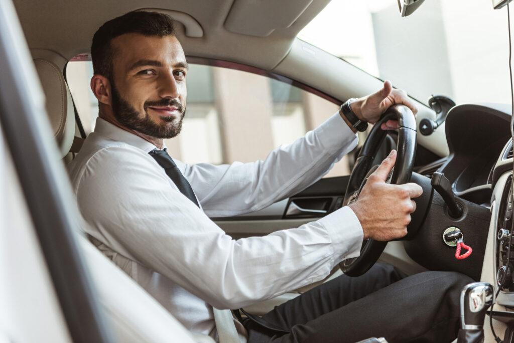 bezpieczna flota kierowców